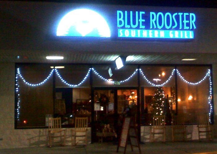 Blue Rooster Southern Grill Restaurant Outside Photo; Waynesville, NC